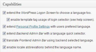 Как изменить язык сайта на WordPress