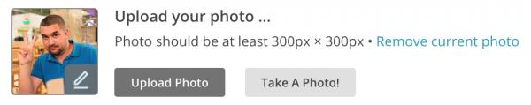 Загрузка фотографии в MailChimp