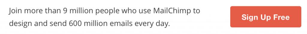Регистрация в MailChimp
