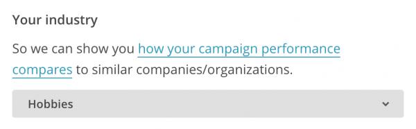 Выбор сферы деятельности компании
